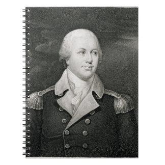 General importante Nathaniel Greene (1742-86), gra Libros De Apuntes Con Espiral