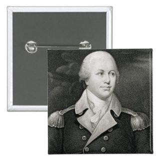 General importante Nathaniel Greene (1742-86), gra Pin Cuadrado