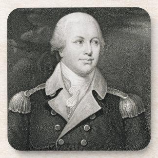 General importante Nathaniel Greene (1742-86), gra Posavasos De Bebida