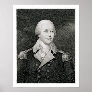 General importante Nathaniel Greene (1742-86), gra Póster