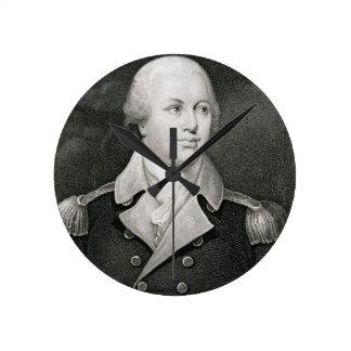 General importante Nathaniel Greene (1742-86), gra Reloj Redondo Mediano