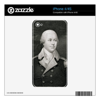 General importante Nathaniel Greene (1742-86), gra Skin Para El iPhone 4