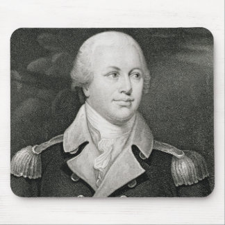 General importante Nathaniel Greene (1742-86), gra Tapete De Raton