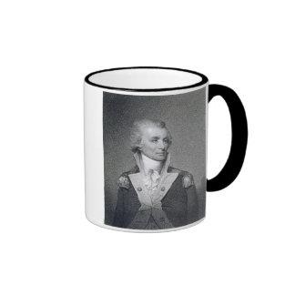 General importante Thomas Sumter (1734-1832) grabó Taza De Dos Colores