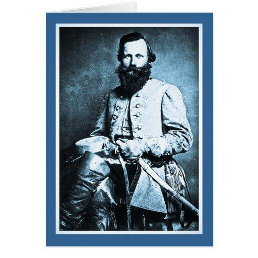 General J.E.B. Stuart American Military Hero Greeting Card
