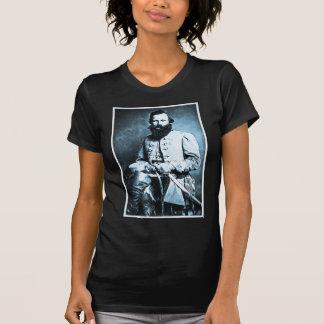 General J.E.B. Stuart Confederate Hero T-shirt