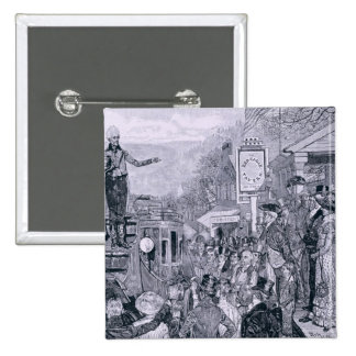 General Jackson, president-elect 2 Inch Square Button