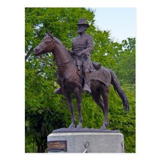 General James B. McPherson Statue Postcard