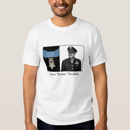 General James Doolittle and The Medal of Honor Shirt