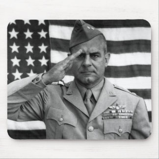 General James Doolittle Saluting -- WW2 Mouse Pad