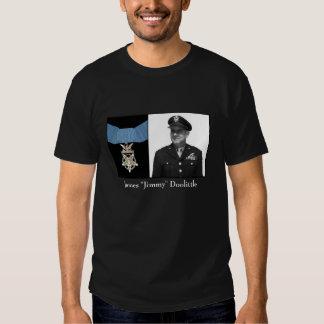 General James Doolittle y la medalla de honor Remeras