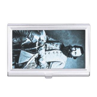 """General James Ewell Brown """"Jeb"""" Stuart Vintage Business Card Holder"""