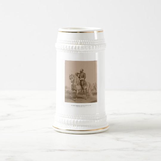 General James Garfield -- Civil War Beer Stein