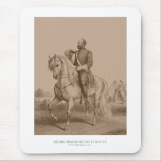 General James Garfield -- Civil War Mouse Pad