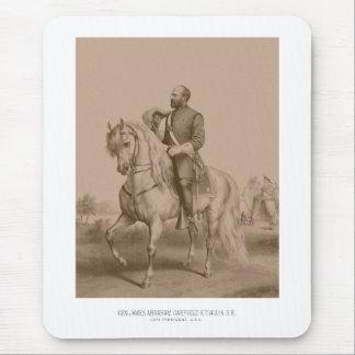 General James Garfield -- Guerra civil Alfombrillas De Ratón