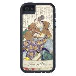 General japonés del guerrero del samurai del vinta iPhone 5 coberturas