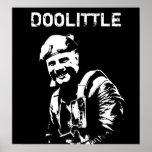 General Jimmy Doolittle -- Blanco y negro Posters