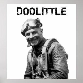 General Jimmy Doolittle -- WW2 Hero Poster