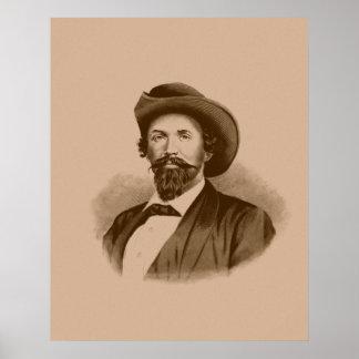 General John Hunt Morgan Poster