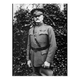 General John J. Pershing.  General_War Image Postcard