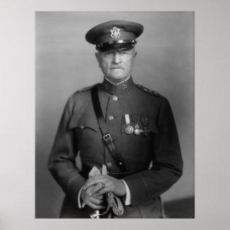 General John Pershing Poster