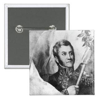 General Jose de San Martin Pin Cuadrado