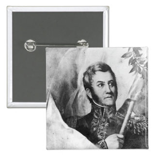 General Jose de San Martin Pinback Button