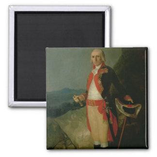 General Jose de Urrutia  1798 Refrigerator Magnets