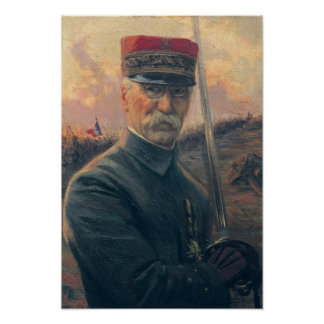 General José Gallieni Póster