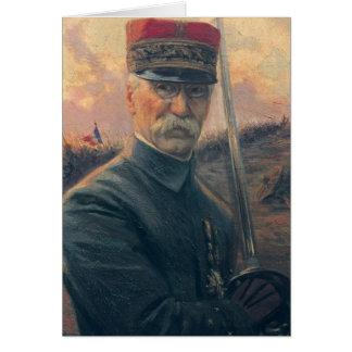 General Joseph Gallieni Card