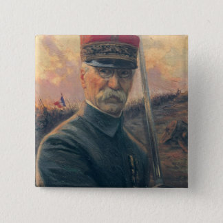 General Joseph Gallieni Pinback Button