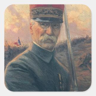 General Joseph Gallieni Square Sticker
