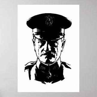 General Juan Pershing Posters