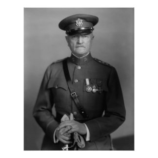 General Juan Pershing Póster