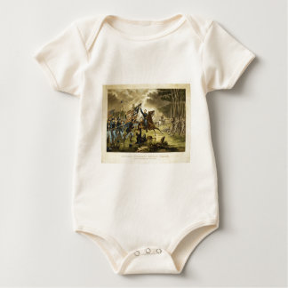 General Kearny's Charge in the Battle of Chantilly Baby Bodysuit