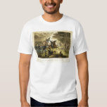 General Kearny's Charge in the Battle of Chantilly T Shirt