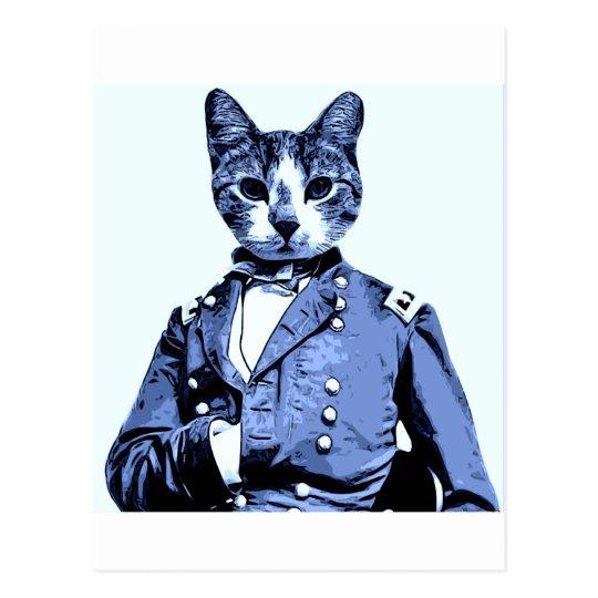 General Kitty Postcard