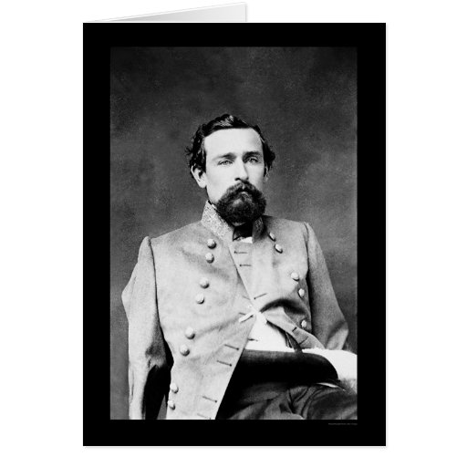 General Lawerence S. Baker 1862 de Confederacy Tarjeta De Felicitación