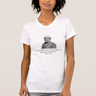 General Lee and Quote T Shirt