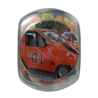 General Lee Electric Jelly Belly Candy Jars