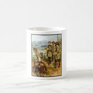 General Lee en la batalla de Fredericksburg Taza De Café