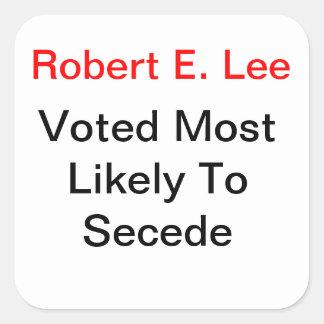 General Lee Failure Sticker