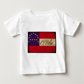 General Lee Headquarters Flag with Signature Baby T-Shirt