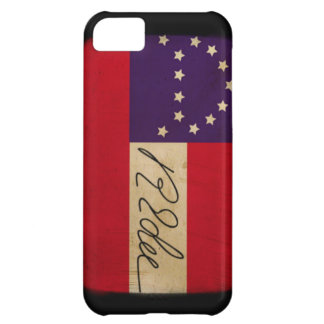 General Lee Headquarters Flag with Signature iPhone 5C Cover