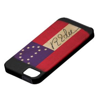 General Lee Headquarters Flag with Signature iPhone 5 Cases
