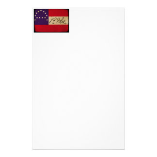 General Lee Headquarters Flag with Signature Stationery