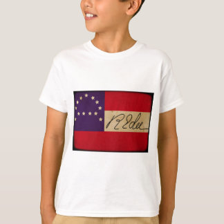 General Lee Headquarters Flag with Signature T-Shirt