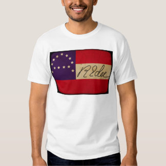 General Lee Headquarters Flag with Signature Tee Shirt