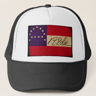 General Lee Headquarters Flag with Signature Trucker Hat