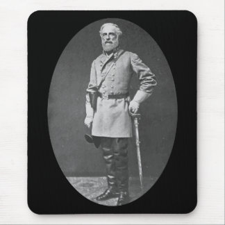 General Lee with Sword Mouse Pad